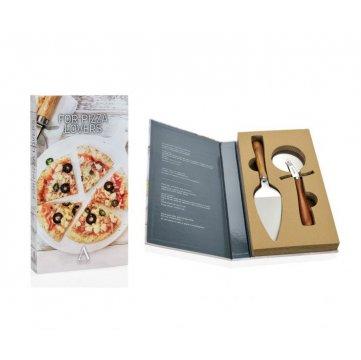 set gourmet para amantes de la pizza