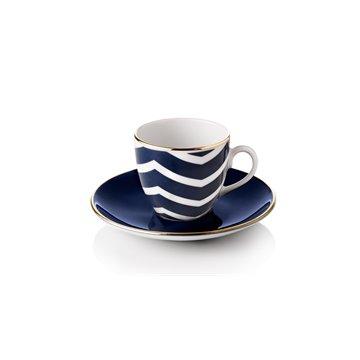 turkish coffee cups selamlique bleu wave