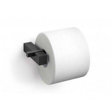 CARVO držák toaletního papíru, černý - ZACK