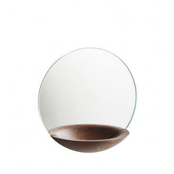 """Nástěnné zrcadlo s odkládací miskou """"Pocket"""", malé, 3 varianty - Woud"""
