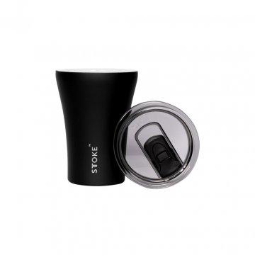 Keramický termohrnek, luxusní černá, 227 ml - Sttoke