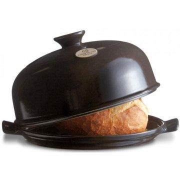 Forma na pečení chleba, kulatá, pepřová - Emile Henry