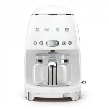 50's Retro Style kávovar na filtrovanou kávu 1,4l 10 cup bílý - SMEG