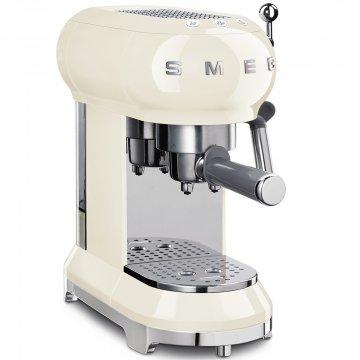 50's Retro Style pákový kávovar na Espresso / Cappucino 15 barů 2 cup krémový - SMEG