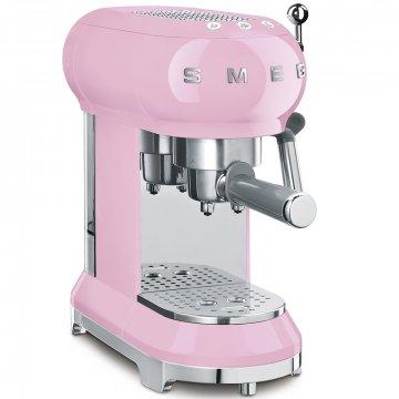 50's Retro Style pákový kávovar na Espresso / Cappucino 15 barů 2 cup růžový - SMEG