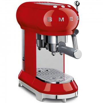 50's Retro Style pákový kávovar na Espresso / Cappucino 15 barů 2 cup červený - SMEG