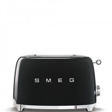 50's Retro Style toustovač P2 černý 950W - SMEG