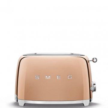 50's Retro Style toustovač P2 růžově zlatý 950W - SMEG