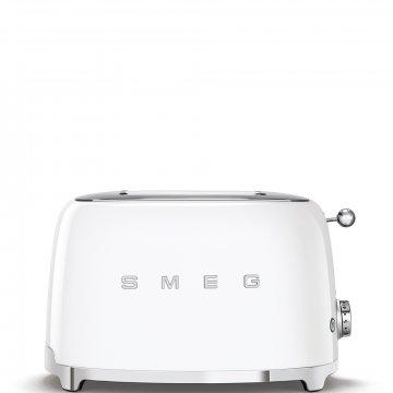 50's Retro Style toustovač P2 bílý 950W - SMEG