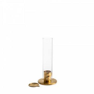 Stolní krb / lucerna se spirálovým ohněm SPIN 90, zlatá - Höfats