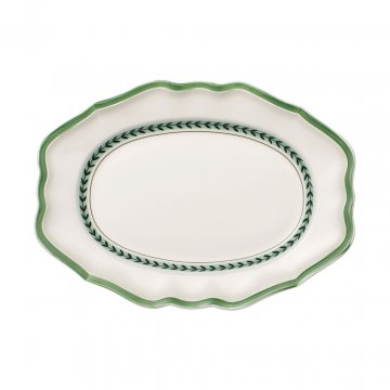Oválný servírovací talíř, kolekce French Garden Green Line - Villeroy & Boch