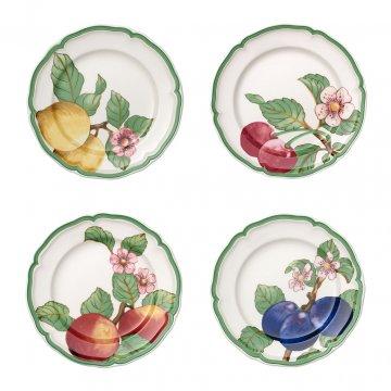 Jídelní talíř, set 4ks, kolekce French Garden Modern Fruits - Villeroy & Boch