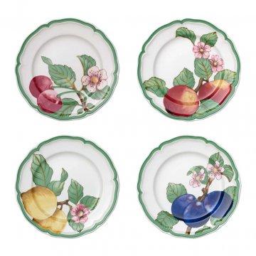 Dezertní talíř, set 4ks, kolekce French Garden Modern Fruits - Villeroy & Boch