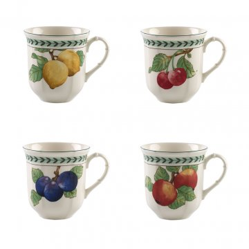 Jumbo hrnek, set 4ks, kolekce French Garden Modern Fruits - Villeroy & Boch