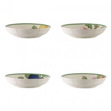 Miska plochá, set 4ks, kolekce French Garden Modern Fruits - Villeroy & Boch