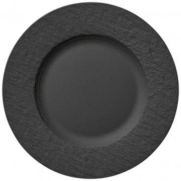 Plochý talíř, kolekce Manufacture Rock - Villeroy & Boch