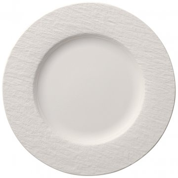 Plochý talíř, kolekce Manufacture Rock blanc - Villeroy & Boch