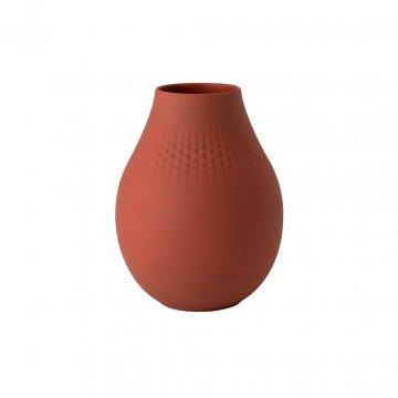 Váza Perle, vysoká, kolekce Manufacture Collier terre - Villeroy & Boch