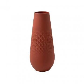 Váza Carré, vysoká, kolekce Manufacture Collier terre - Villeroy & Boch