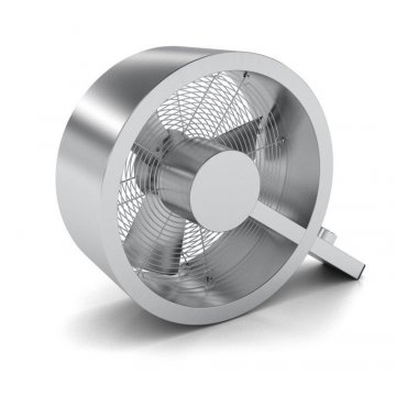 Podlahový ventilátor Q - stříbrný - Q-002 - Stadler Form
