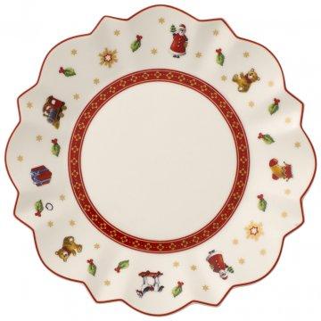 Vánoční talíř, snídaňový - bílý, kolekce Toy's Delight - Villeroy & Boch
