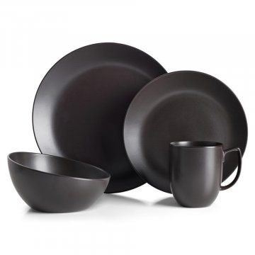 MT1300 Orbit 4pc Place Setting Celestial Black
