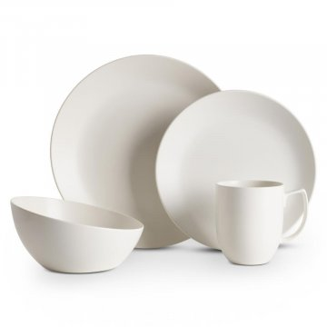 MT1302 Orbit 4pc Place Setting Starry White