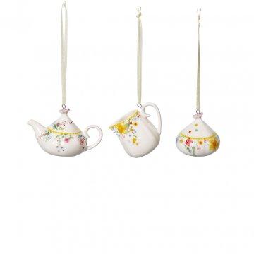 """Velikonoční ozdoby """"kávový set"""", 3ks, kolekce Spring Awakening - Villeroy & Boch"""