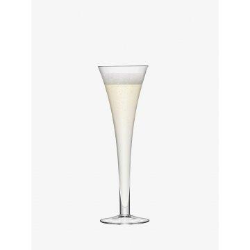 Sklenice na šampaňské Bar, 200 ml, čirá, set 2ks - LSA International