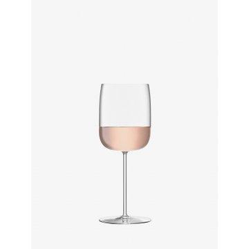 Sklenice na víno Borough, 380 ml, čirá, set 4 ks - LSA International