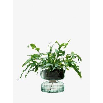 Samozavlažovací květináč Canopy, výška 22 cm, čirý - LSA International