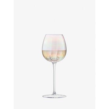 Sklenice na bílé víno Pearl, 325 ml, perleťová, set 4 ks - LSA International