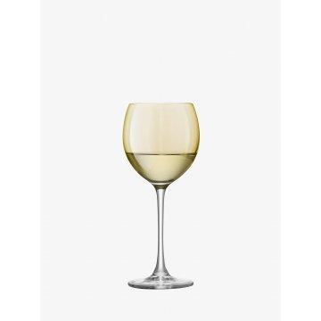 Sklenice na víno Polka, 400 ml, pastelová, set 4 ks - LSA International