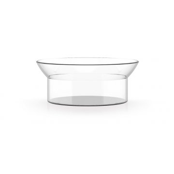 135006 wilhelm abtropfschale glasschale bauhaus design