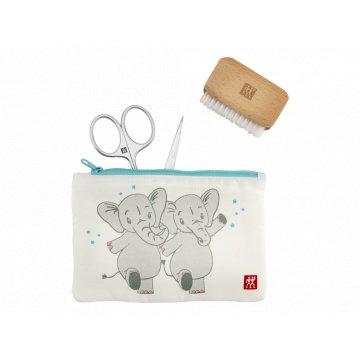 Dětská manikúrní sada Slon, Twinox, 3 ks - Zwilling