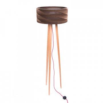 Cardboard tripod lamp Cardlamp 1500x1500px