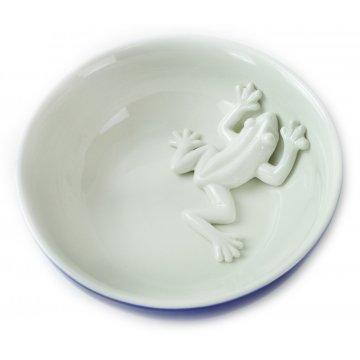 bowl frog