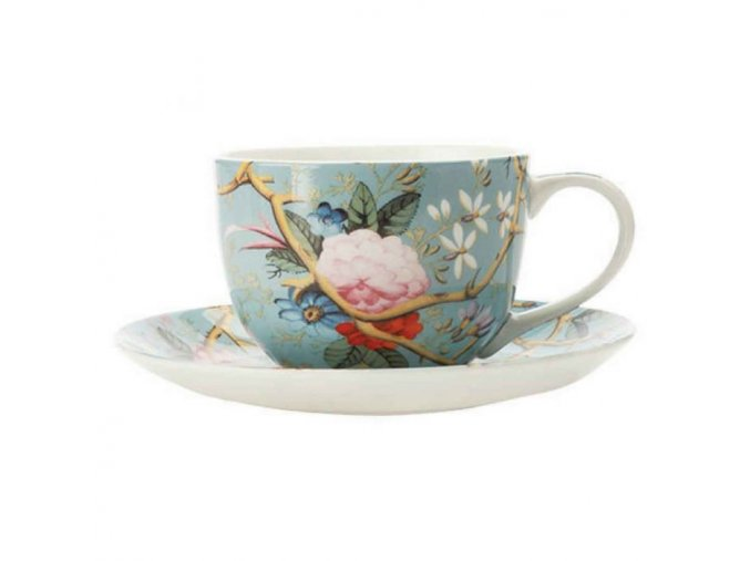 tazzina da caff in porcellana kilburn victorian garden maxwell williams gotti shop