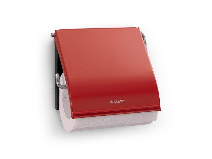 Držák toaletního papíru Classic červený - Brabantia