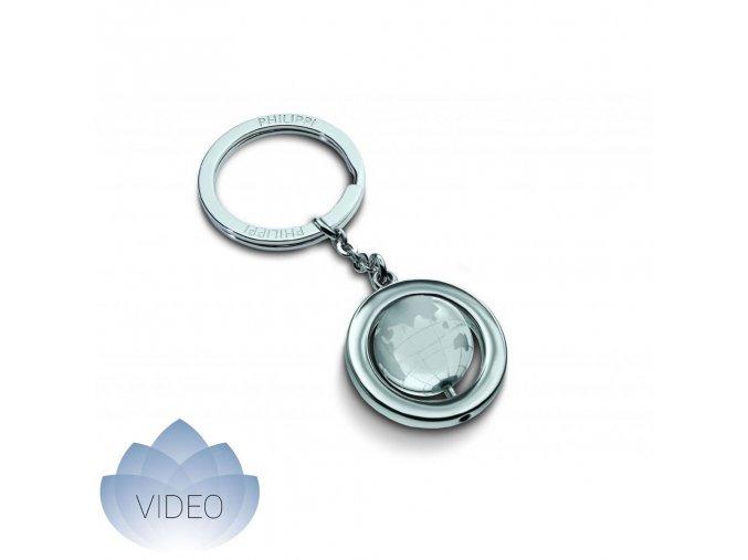Přívěsek na klíče GLOBE - Philippi