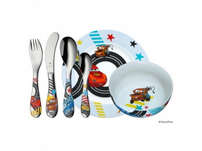 Dětský jídelní set 6dílný Auta 2 - WMF