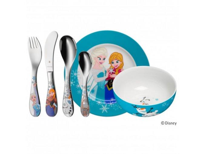 Dětský jídelní set 6dílný Disney Frozen - WMF