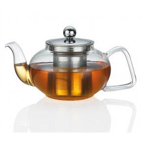 Konvice na čaj TIBET od 0,4 L sklo/nerez - Küchenprofi