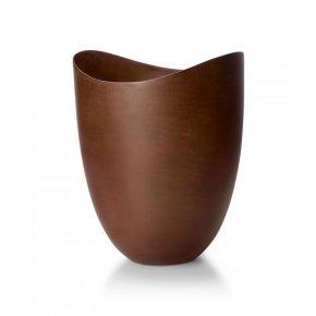 Designová váza Organic mangové dřevo - Philippi
