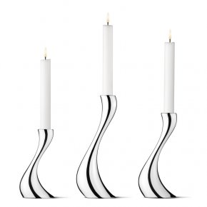 Sada svícnů Cobra, 3 ks - Georg Jensen