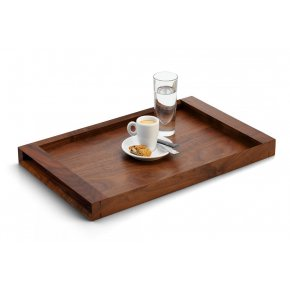 Designový podnos Lodge ořechové dřevo 3 velikosti - Philippi