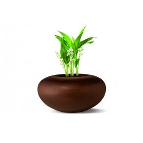 229003 ORGANIC Vase rund deco2