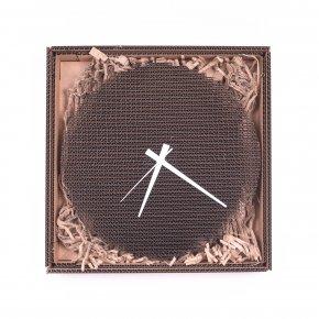 Kartoons Cardboard clock Circlock WH 01 1500 x 1500px