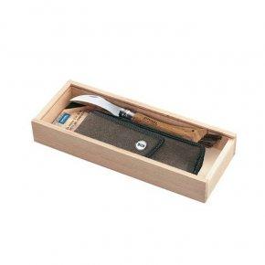 VR N°08 houbařský nůž, dárkové balení s pouzdrem - Opinel