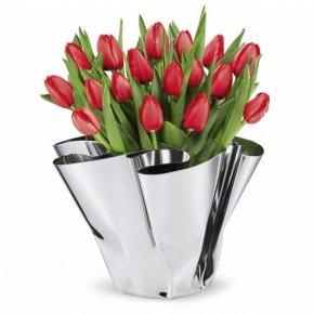 MARGEAUX - ručně tvořená nerezová váza - Philippi